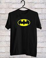 Cổ điển Batman biểu tượng màu vàng Đen T-Shirt tee shirt S-3XL