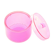 Dental Lab Equipment Autoclavable Sterilize Box Soak Disinfection Cup Net Basket Case Dentist Products Pink Free Shipping