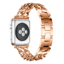 Straps for Apple Watch Strap 44mm 42mm 38mm Zinc Alloy Bracelet for iWatch Band 42mm 38mm Bands Rose Strap For Apple Watch 4 3 2