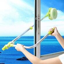 Телескопическая щетка для чистки высоких окон, щетка для мытья окон, щетка для удаления пыли, hobot 168 188