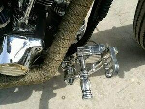 Image 5 - BIKINGBOY juegos traseros para Harley Davidson SOFTAIL 84 85 86 87 88 89 99, apoyapiés, carreras de motos