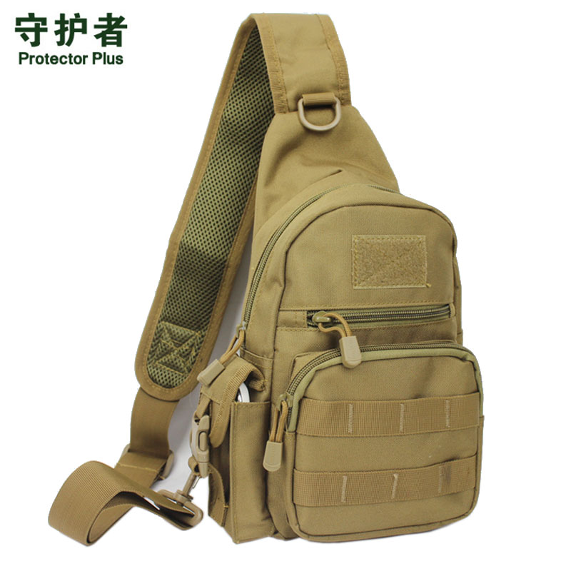 Men 1000D Waterproof Nylon Sling Chest Bag Military Travel Riding Cross Body Messenger Casual Shoulder Packet Pouch 2018 New