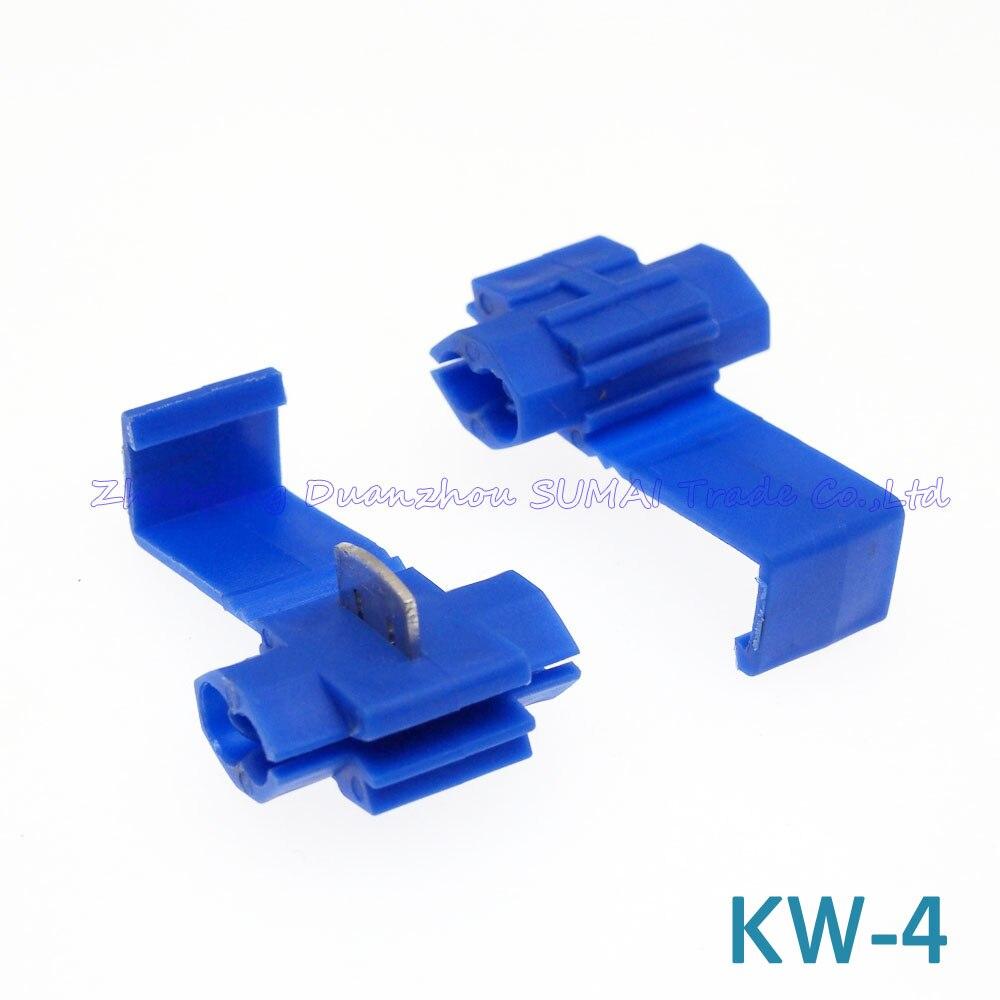 200pcs Best Quality KW 4+KW 5 Scotch Lock,Auto Quick connector ...