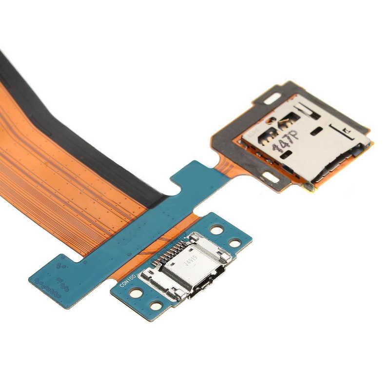 """Novo micro sd usb porto de carregamento cabo flexível para samsung galaxy tab s 10.5 SM-T800 'SM-T805 SM-T807 10.5 """"substituição qualidade"""