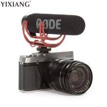 Yixiang DSLR микрофон Rode VideoMic Go видео Камера микрофон для Canon Nikon Sony микрофон Rode Go Rycote видео Mic