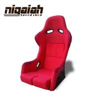 2PCS/LOT Drift Racing Bucket Seat Black Fiberglass Red/Blue/Black/Yellow Sport Racing Car Seat DRIFT seat