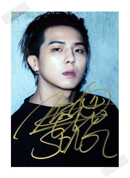 MOBB Song Min Ho Minho autographed signed photo 4*6 inches freeshipping new korean 02.2017 snsd tiffany autographed signed original photo 4 6 inches collection new korean freeshipping 012017 01