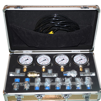 China's high quality hydraulic measuring toolbox for all kinds of hydraulic presses, construction machinery, inflatable tools