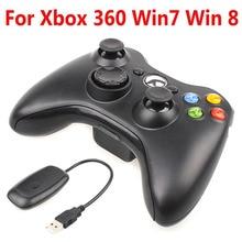 Для xbox 360 Беспроводной джойстик игрового контроллера Беспроводной пульт дистанционного управления Джойстик для официальный Microsoft Win8 xbox игровая контроллер