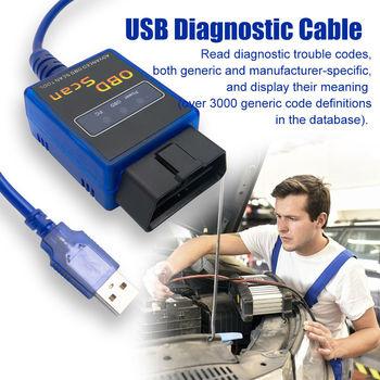 Диагностический сканер USB Модифицированная ELM327 для Ford MS-CAN HS-CAN  Mazda Forscan OBD2