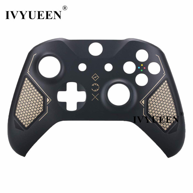 IVYUEEN Plastic Front Top Shell Cover for Xbox One X S Controller Case Skin Recon Tech Special Edition Limited for X Box ONE