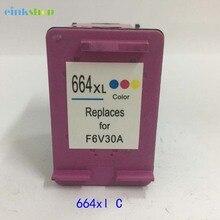 цена Tri-color 664xl Ink Cartridge For HP 664 Ink Cartridge For HP DeskJet 2135 2138 3635 1115 1118 3636 3638 4536 4676 Printer