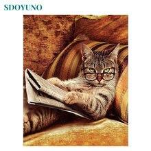 Рамка sdoyuno для творчества искусство стен животные кошка современное