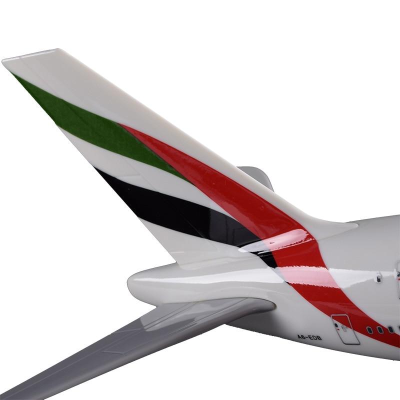 36cm A380 Resin Airplane Model United Arab Emirates Airlines Airbus Model Emirates Airways Plane Model UAE A380 Aviation Model