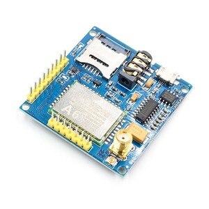 Image 4 - 1Set A6 GSM GPRS وحدة TTL/RS232 المسلسل الأساسية مجلس التنمية مع هوائي GPRS النص نقل البيانات اللاسلكية استبدال SIM900