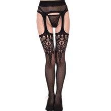 Fashion Women's Pantyhose Sexy Stockings Long Fishnet Fish Net Mesh Lingerie Skin Thigh High Stocking Pantyhose Women Hollow все цены