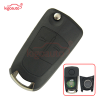 93189840 flip Remote key 2 button HU100 433Mhz ID46 PCF7941 chip G1 AM433TX for Opel Corsa D original circuit board 2007 2012