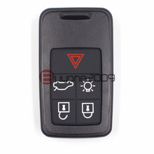 Keyecu Replacement Remote Car Key 5 Button for Volvo S60 S80 XC60 FCC KR55WK49266