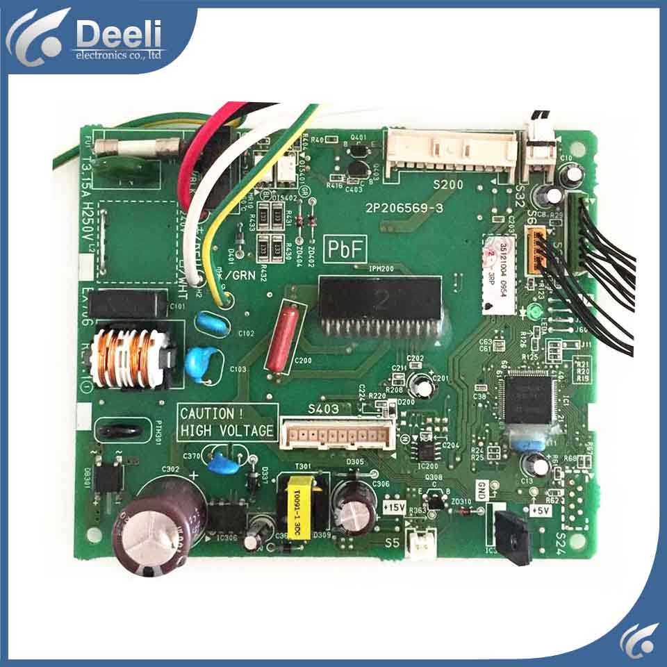 Original for air conditioning control board 2P206569 2P206569 3 2P206569 2 FTXS46JV2CW motherboard used