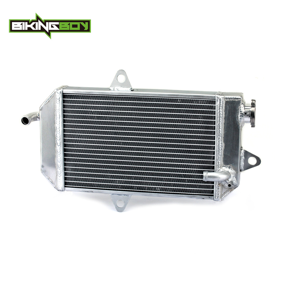 BIKINGBOY ATV Quad Dirt Bike Aluminium Core Engine Radiator Water Cooling Cooler for YAMAHA YFZ350 YFZ 350 Banshee 87-2006 05 04 картины в квартиру картина bamboo and tree 79х79 см
