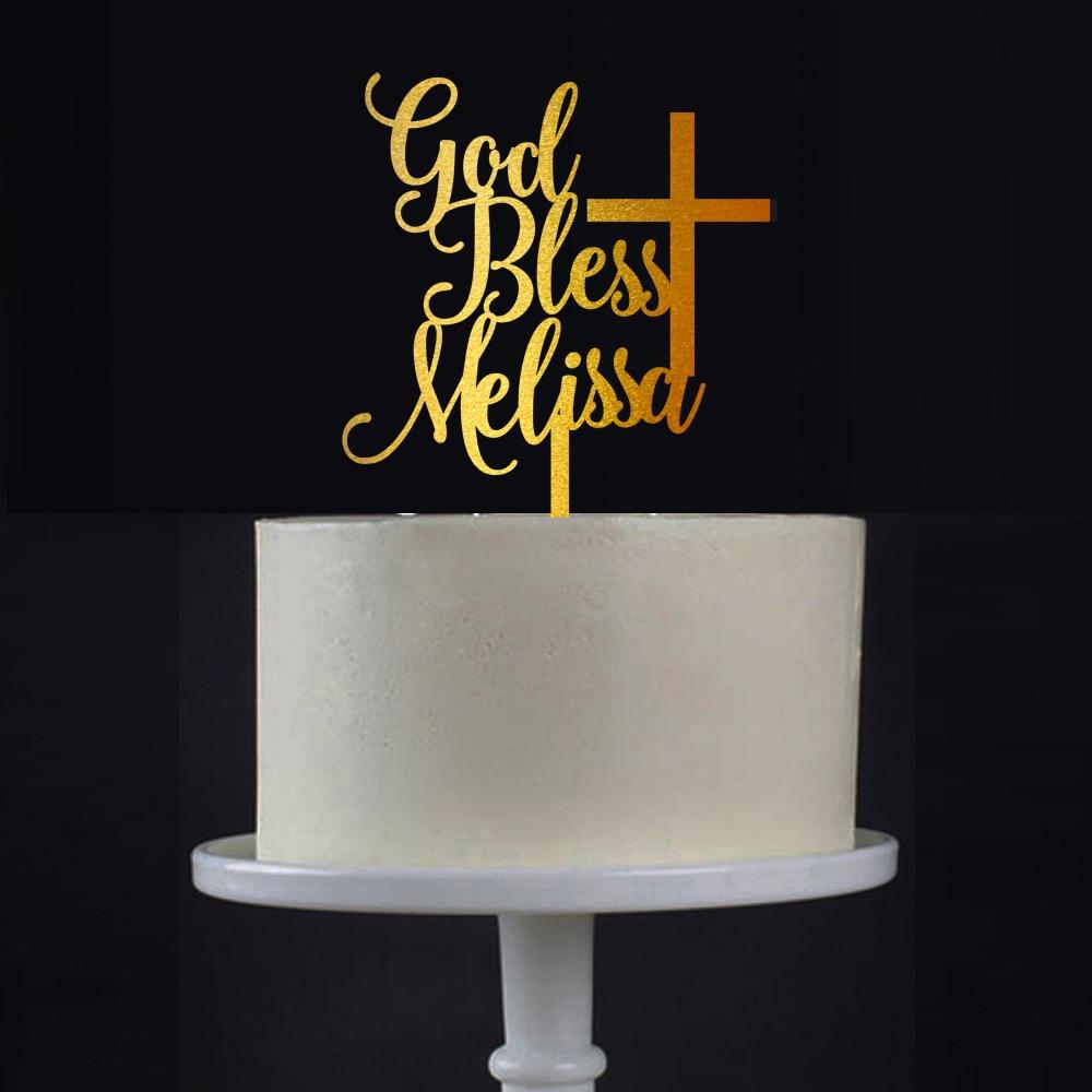 Battesimo Cake Topper Con Personalizzato Cake Topper Con il Nome, il Battesimo Regalo, Personalizzato Battesimi, dio Benedica CakeName E CroceBattesimo Cake Topper Con Personalizzato Cake Topper Con il Nome, il Battesimo Regalo, Personalizzato Battesimi, dio Benedica CakeName E Croce