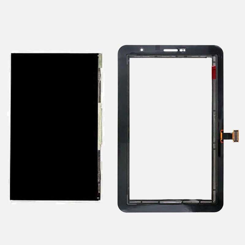 Black / White LCD Display Monitor Panel + Touch Screen Sensor Panel Glass Digitizer For Samsung Galaxy Tab 2 7