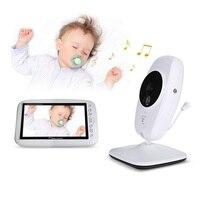 Babykam babyfoon камера видео детский монитор 7 дюймов ИК ночного видения Домофон колыбельный датчик температуры babyfoon met камера