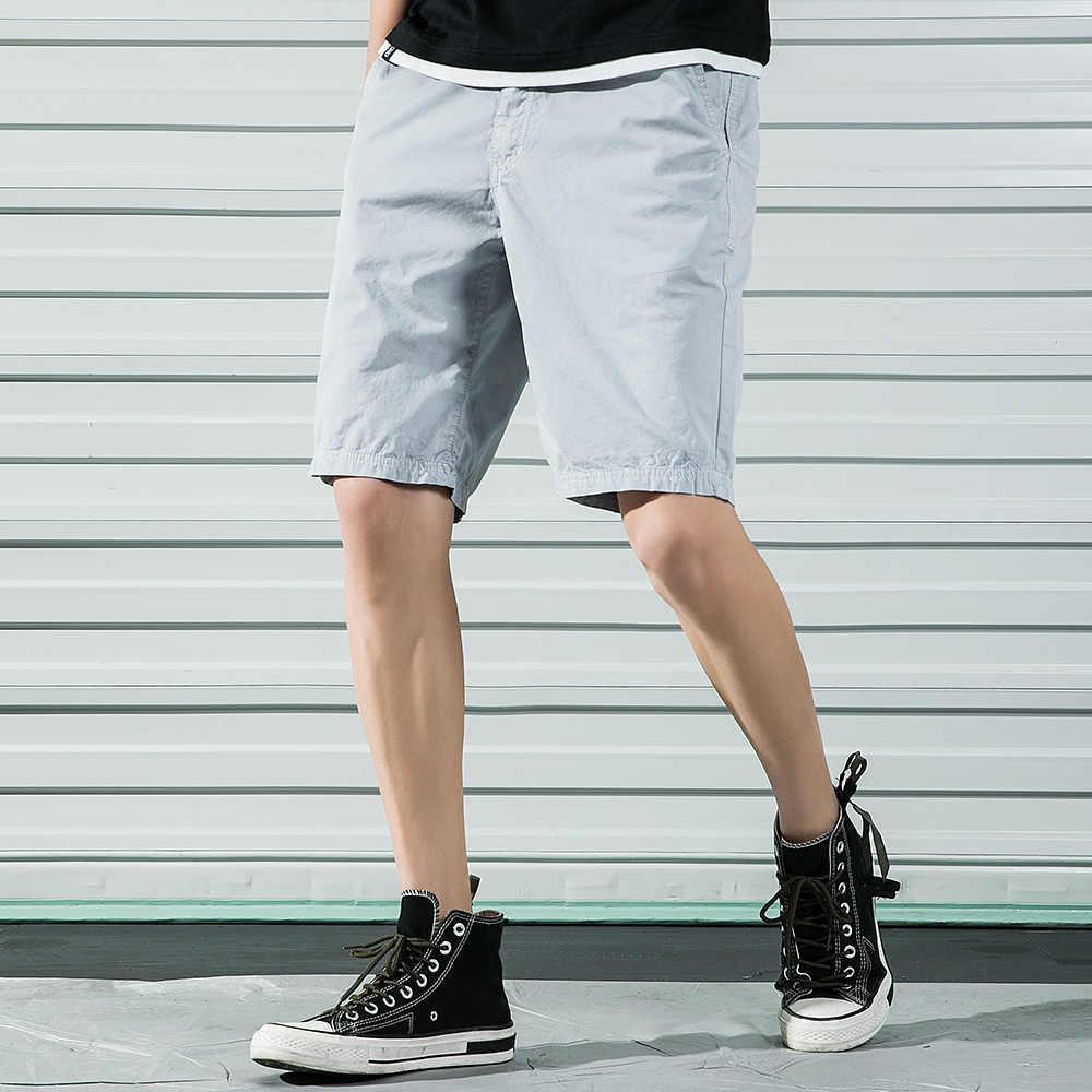 2019 nowy męskie szorty bojówki fajne lato gorąca sprzedaż bawełna na co dzień mężczyźni krótkie spodnie wojskowe Streetwear krótki ABZ335