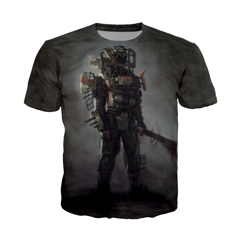 Men's Clothing T-shirts Lovely Fallout T-shirt Fallout 4 Tshirt Sandbox Survival Game T Shirt New Arrival 2018 Tops Modal Comfortable Tee Fashion Logo Clothes With Traditional Methods