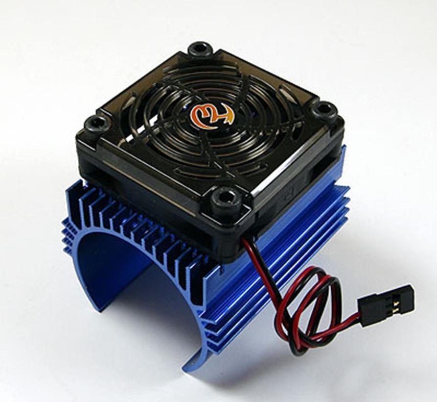 Hobbywing 1 8 car motor radiator 5v cooling fan for for Radiator fan motor price