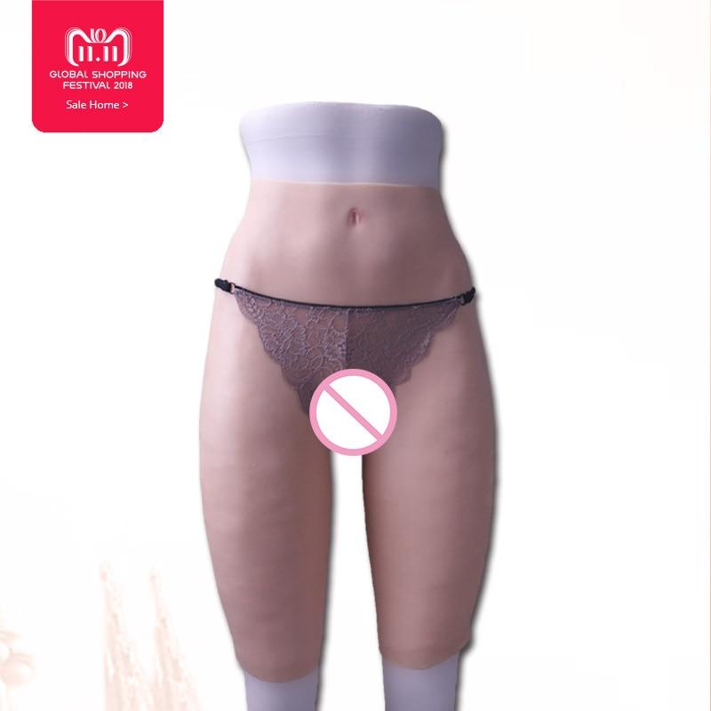 Realistico Del Silicone Ass Super reale Della Vagina pantaloni per crossdresser sesso anale Transgender trans Realistica Figa