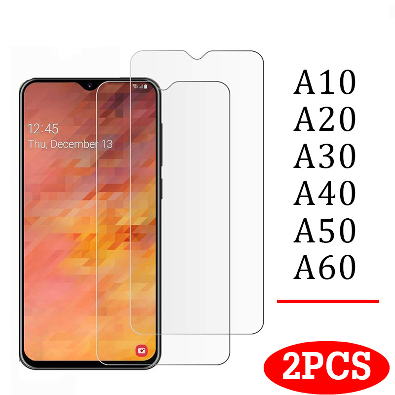 Tempered-Glass-Cover Screen-Protector-Film A50 J6 A30 A70 Premium A20 J4 A10 Samsung Galaxy title=
