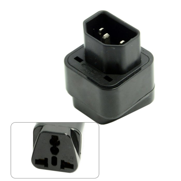 IEC320 IEC 320 C14 iec 320 iec C13 plug Socket to USA Europe UK Australian All in One Combo Power Adapter connector enchufe