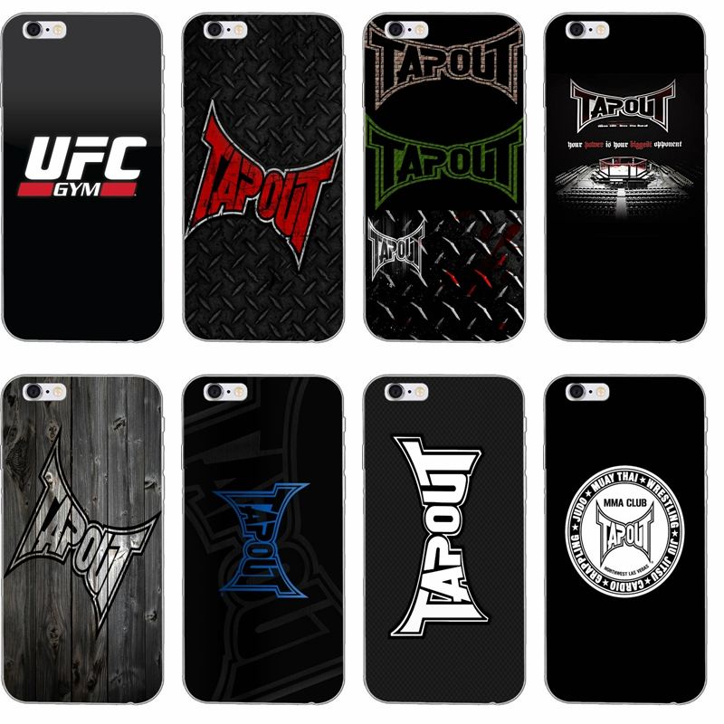 Ufc Tapout 2: Popular Boxing Ufc Tapout Mma Slim Soft Phone Case For