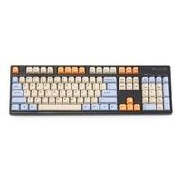 ANSI 104 Key Top Print Keyset Thick PBT OEM Profile Keycaps For 61 87 104 MX Mechanical Keyboard