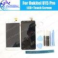 U15 Oukitel Pro Display LCD + de Tela de Toque 100% LCD Original Digitador de Vidro Substituição Do Painel Para Oukitel U15 Pro + ferramentas + adesivo