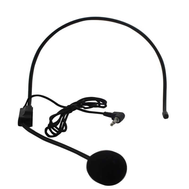 3.5 mm Microphone Headset Studio Conference Guide Speech