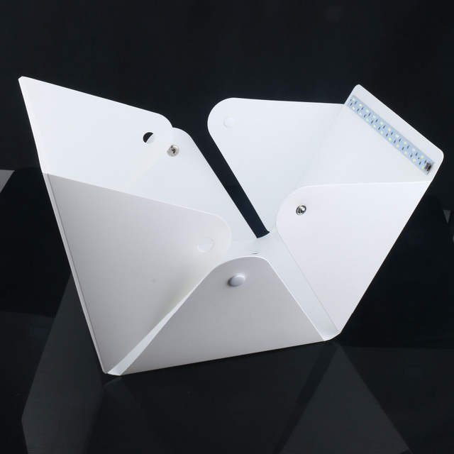 Online Shop 2017 New Mini Folding Studio Diffuse Soft Box With Led
