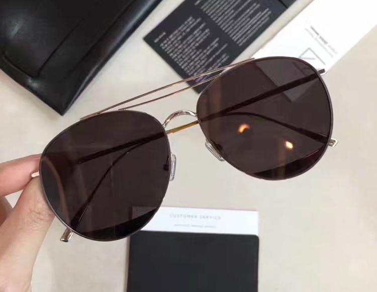Computer Lens Lens Sonnenbrille Yellow De Für Objektiv Fall Ungerade Optische Sanfte pink Original Rahmen Mit Sonne Metall black Sol Frauen Korea 2017 Rosa Lens Oculos Glas gRq4YY