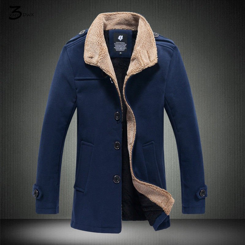 xmy3dwx woolen overcoat solid color s high end fashion