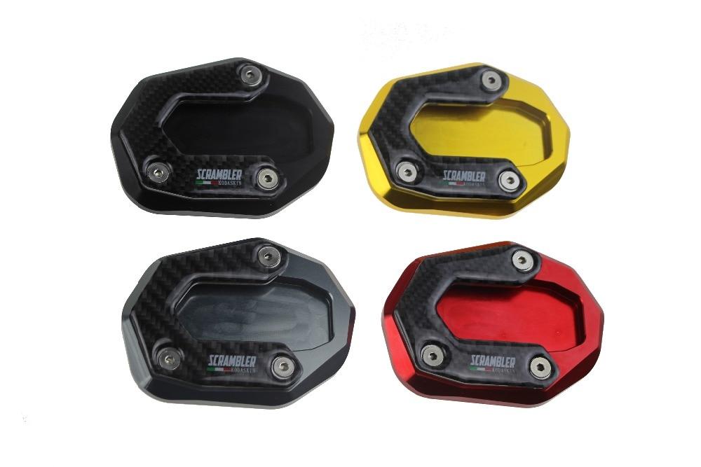 KODASKIN мотоцикла алюминиевая CNC стороны стоят увеличить пластина для Ducati СКРЕМБЛЕР