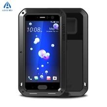 LOVE MEI Waterproof Case for HTC U11 Hard Shockproof Aluminum for HTC U12 Plus Cases