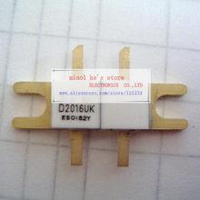 100% Original: D2016UK D2016 [RF DMOS FET 30W 28V 1GHz código Do Pacote: DK] de Alta-qualidade transistor originais