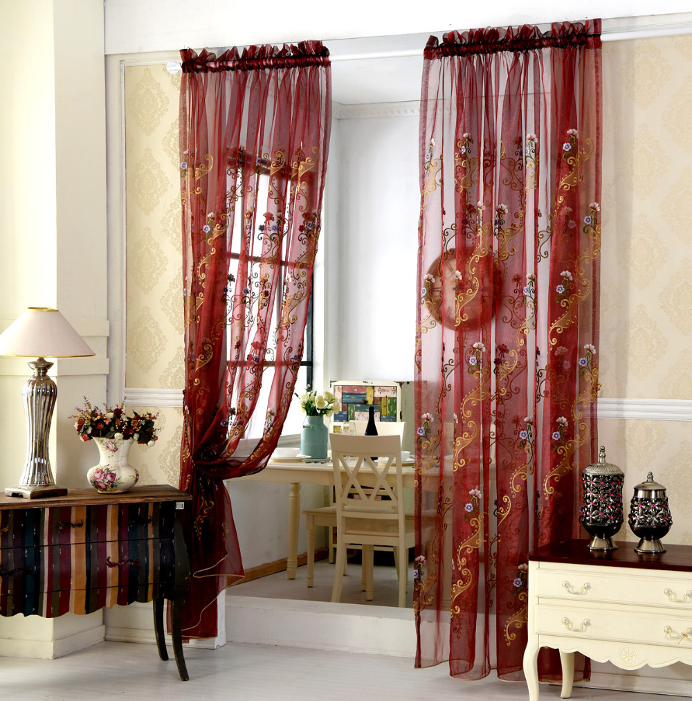 Curtains Custom Picture More Detailed Picture About European High Grade Screens Sheer Pastoral