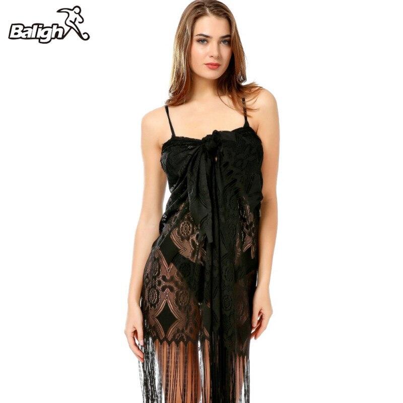 Women Bathing Bikini Swimsuit Tassel Lace Hollow Shawl Swimsuit Blouse Popular Womens Swimming Suit Cover Up Beach