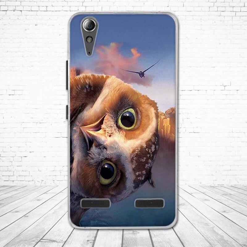 """Miękkiego silikonu case wydrukowano phone tylna pokrywa dla lenovo a6010 & a6000 & dla lenovo lemon k3 k30-t skóry pokrywa 5 """"K 3 A 6000 6010 7"""