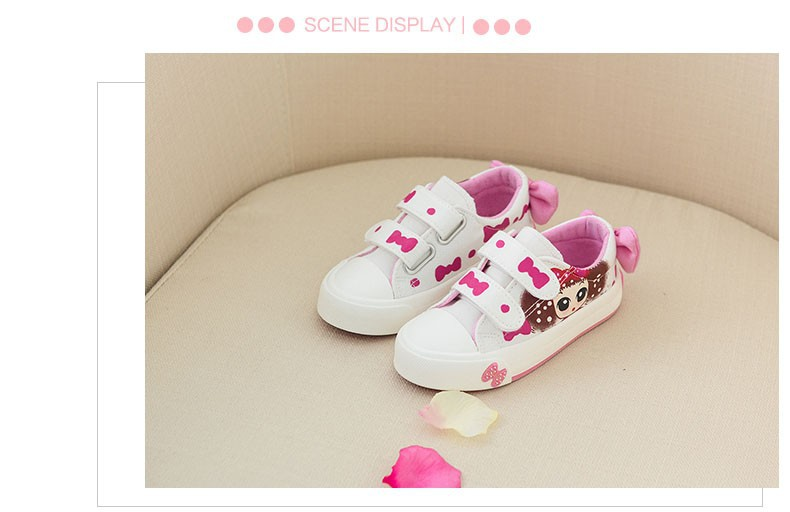 Canvas Children Shoes 17 New Baby Girls Princess Shoes Brand Kids Sneakers for Girls Denim Child Flat Toddler Shoes 9