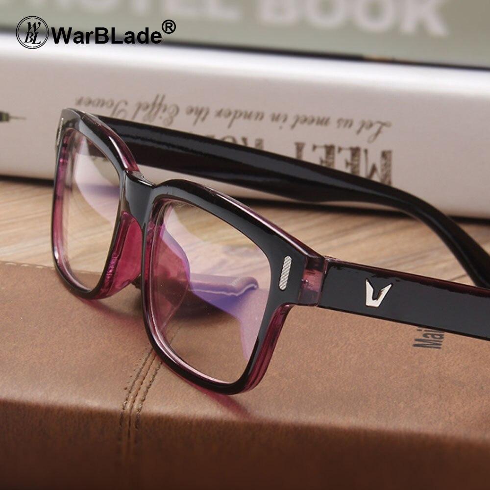 2018 Neue Brillen Männer Frauen Quadrat Marke Designer Brillen Rahmen Klar Optische Myopie Computer Brillen Oculos De Grau Moderate Kosten