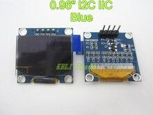 Spi iic серийный oled оригинальный lcd arduino дисплей модуль синий led