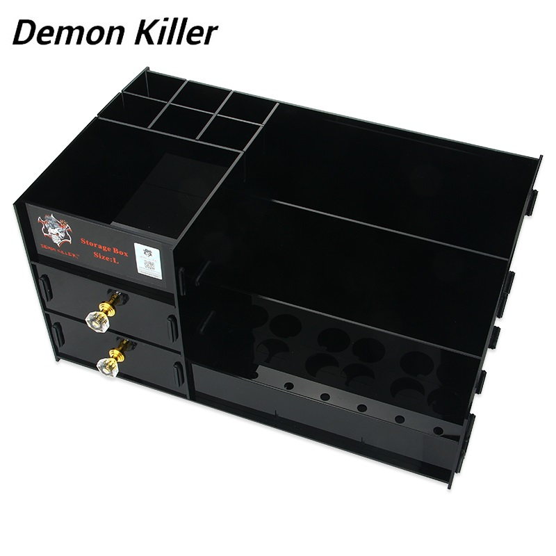 Original Demon Killer Acrylic Storage Box Made of Acrylic Size Useful Shelf To Place Your E-cigs In Order E-cig Vape Spare Part 2015 wholesale back to heaven demon college dxd leah redrawing wire pole dancing editions of hand box